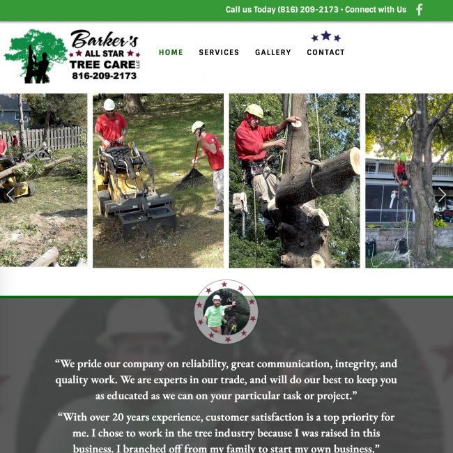Barker's All Star Tree Care 1